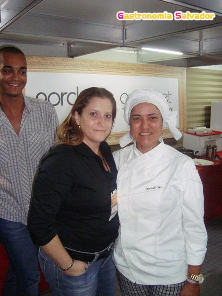 Daniele Coni e Chef Tereza Paim