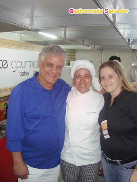 Edinho Engel, Tereza Paim e Daniele Coni