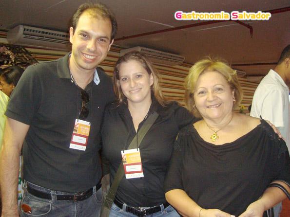 Cristiano MOraes, Daniele Coni e Elíbia Portela