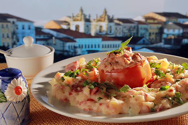 Escondidinho Bar e Restaurante - Prato: Uma Trouxa Cheia