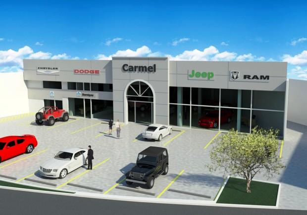 CARMEL CARS - PERSPECTIVA EM 3D