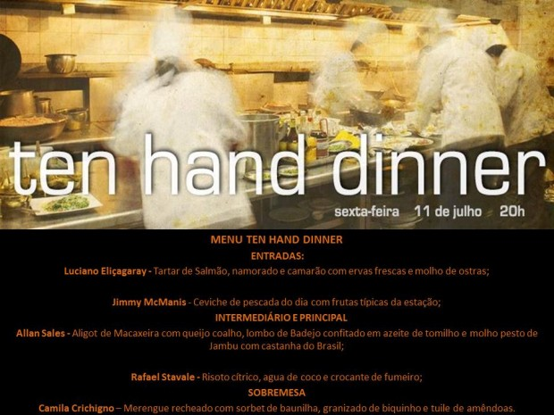 the hands dinner